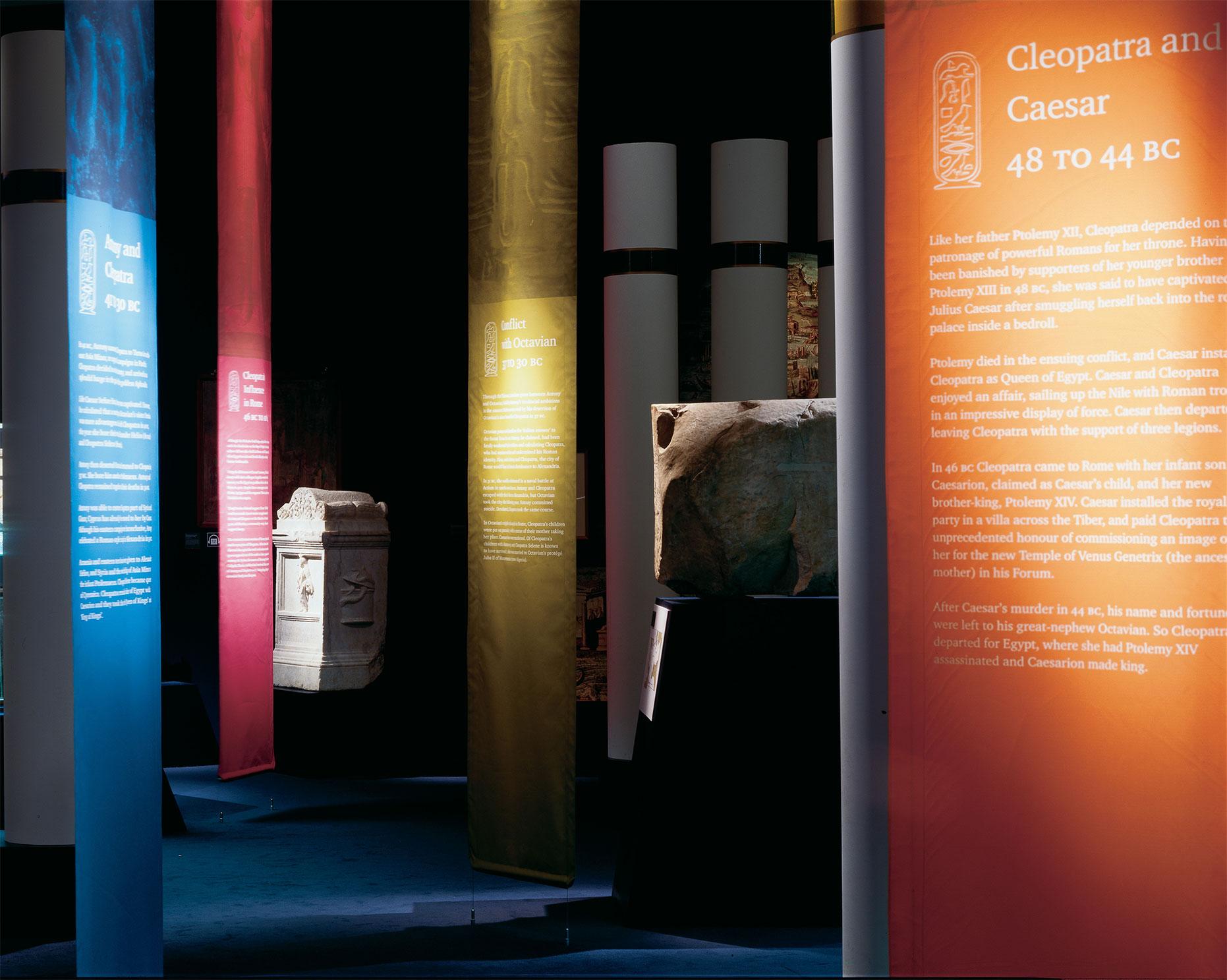 Cleopatra from History to Myth Exhibition