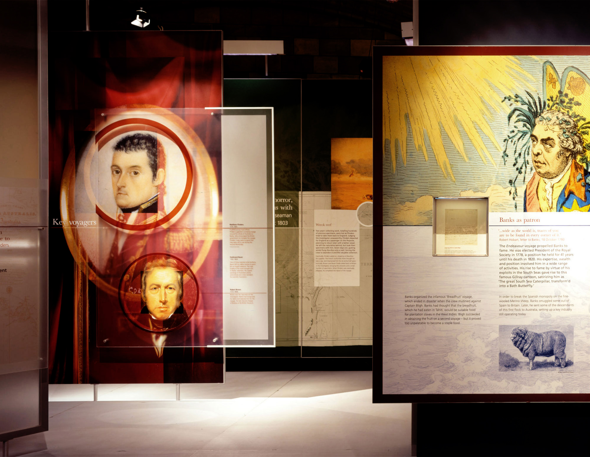 Voyages of Discovery Exhibition